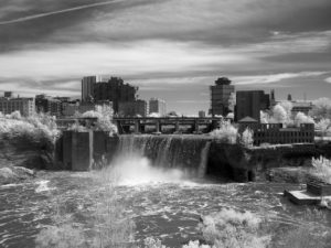 infrared high falls