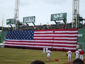 USA Flag, Fenway