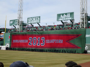 Red Sox Opening Day Banner