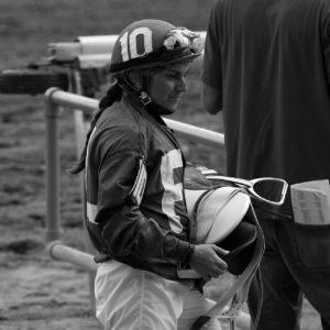 Jockey Elaine Castillo