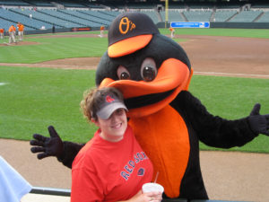 Tracy and the Baltimore Oriole