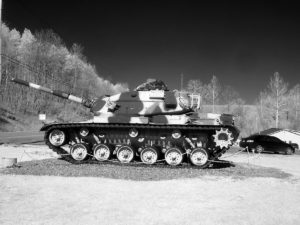 Tank, Naples NY, IR