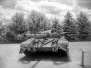 Russian T-72 IR